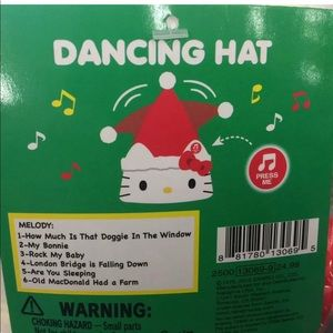 HELLO KITTY Dancing Moving Hat with  6 songs